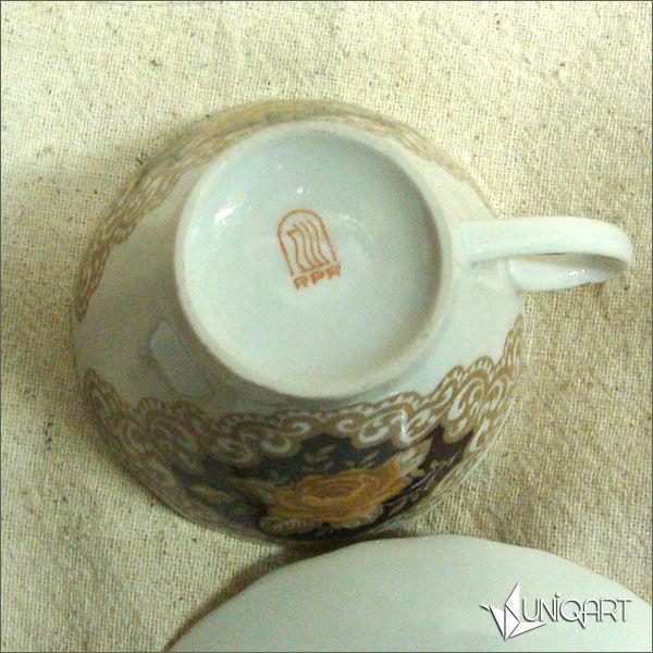 фарфоровая посуда, антиквариат, советский фарфор, винтажный стиль, чайная церемония, кофейный, ретро стиль, блюдце, роспись фарфора, старинная посуда