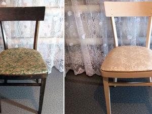 Обновляем старый стул. Ярмарка Мастеров - ручная работа, handmade.