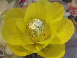 Делаем кувшинку с конфеткой, или Экспресс-подарок за час. Ярмарка Мастеров - ручная работа, handmade.
