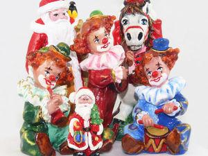 Возобновляется, прием заказов на Ёлочные игрушки из папье-маше в 2017 году. | Ярмарка Мастеров - ручная работа, handmade