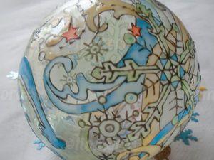 Расписываем волшебный новогодний шар. Ярмарка Мастеров - ручная работа, handmade.
