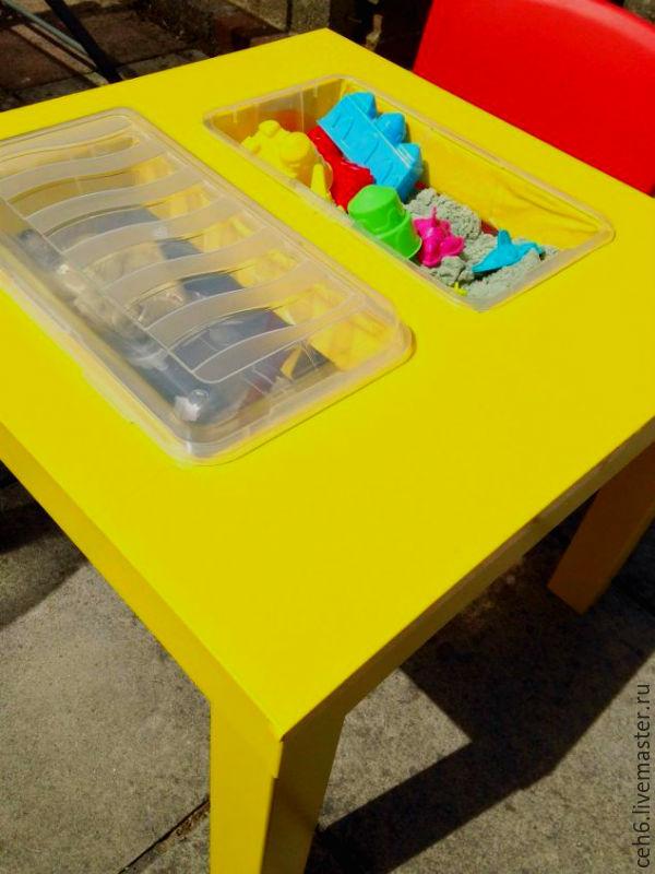 стол, детский столик, купить столик, стол для игр, ручная работа
