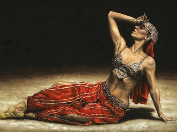 Восточный танец глазами художников | Ярмарка Мастеров - ручная работа, handmade