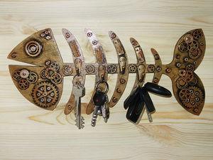 Ключница-рыба. | Ярмарка Мастеров - ручная работа, handmade