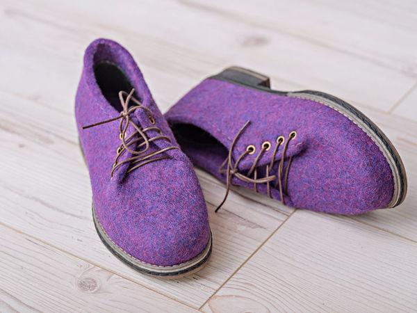 Как сделать валяную обувь гладкой. Ярмарка Мастеров - ручная работа, handmade.