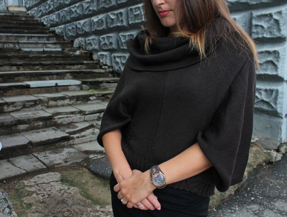 наталья охохонина, пуловер, красота, купить пончо, для женщин, тренд сезона, коллекция одежды