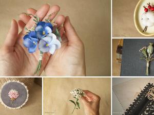Цветы в подарок в виде брошей. Ярмарка Мастеров - ручная работа, handmade.