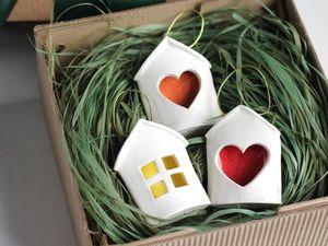 Подарочная упаковка для ёлочных игрушек. Ярмарка Мастеров - ручная работа, handmade.