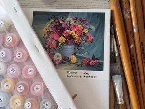 Как рисовать картины по номерам   Ярмарка Мастеров - ручная работа, handmade