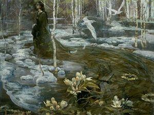 Красота весны в разные времена на картинах художников. Ярмарка Мастеров - ручная работа, handmade.