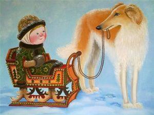 """Выставка """"Русские потешки"""". Ярмарка Мастеров - ручная работа, handmade."""