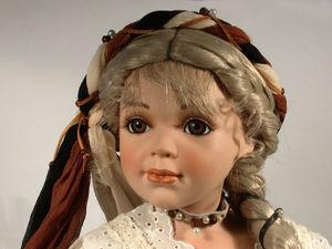 Появилась еще одна куколка принцесса-горожанка | Ярмарка Мастеров - ручная работа, handmade
