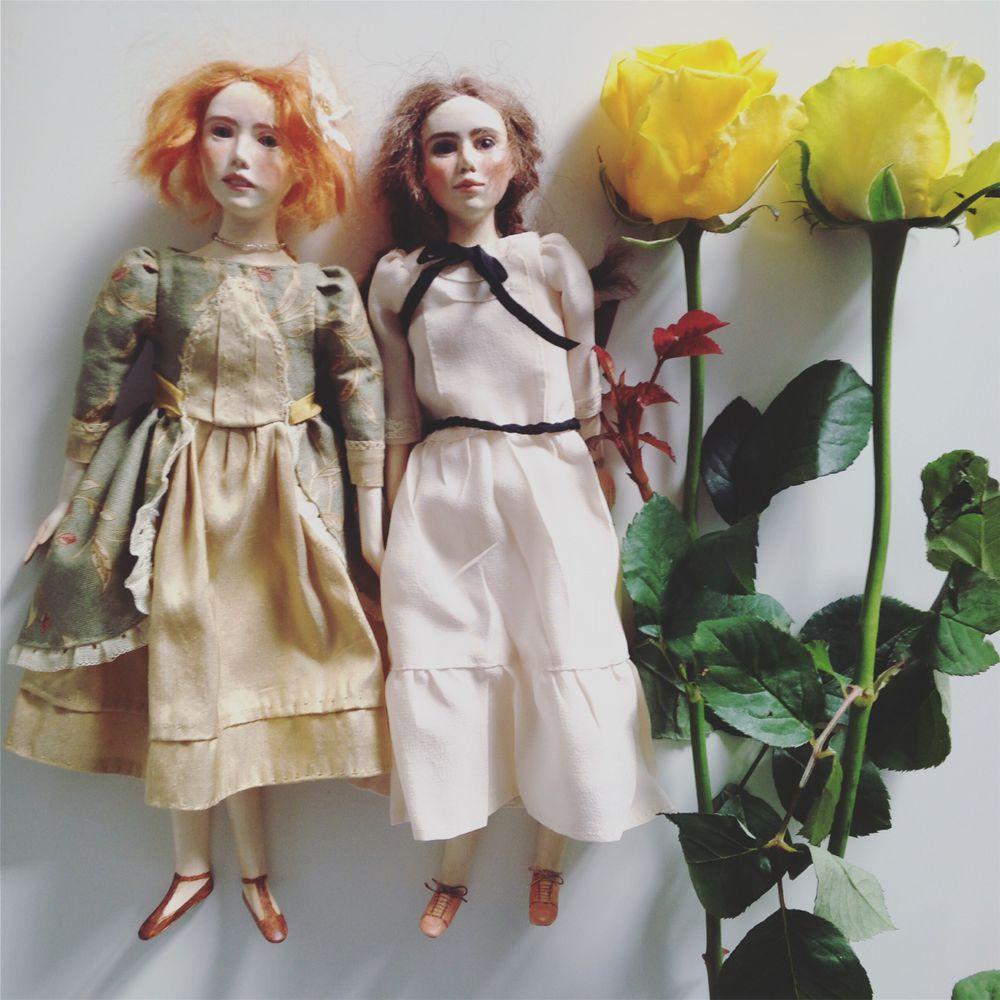 кукла ручной работы, будуарная кукла