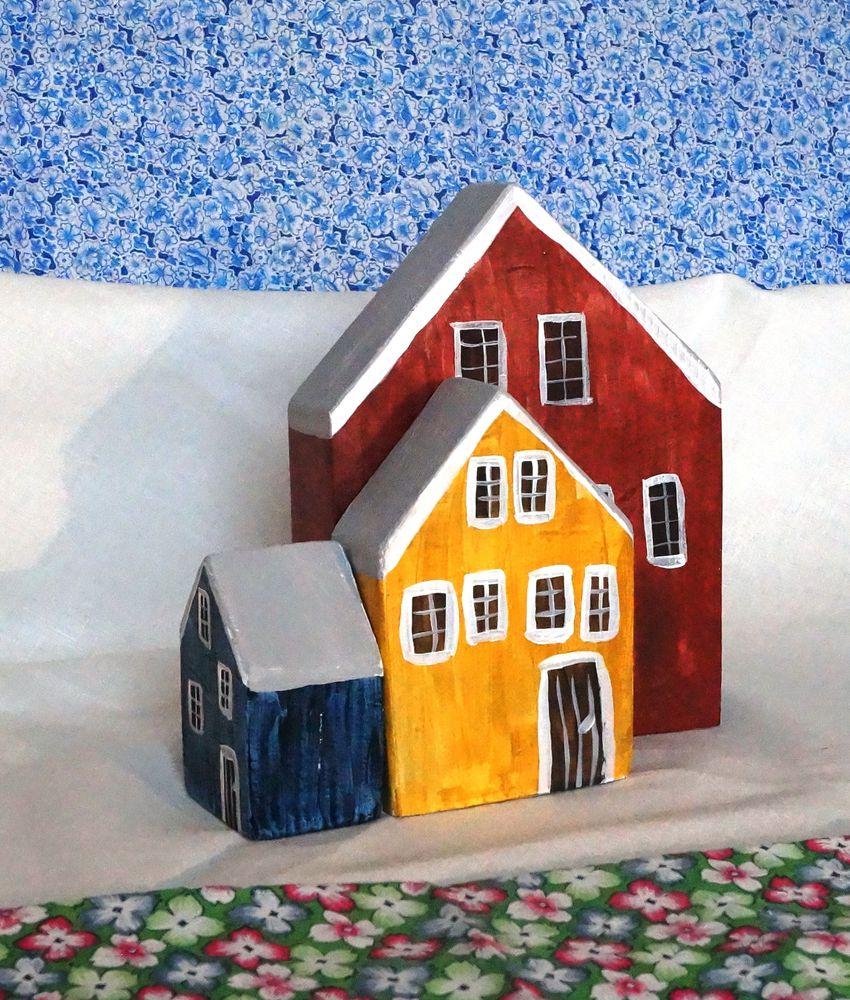 деревянные домики