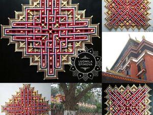 Кельтский и Тибетский узел Счастья. Ярмарка Мастеров - ручная работа, handmade.