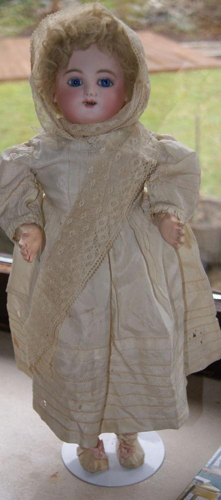 антикварная кукла, антикварный парик, старинная кукла, редкая антикварная кукла