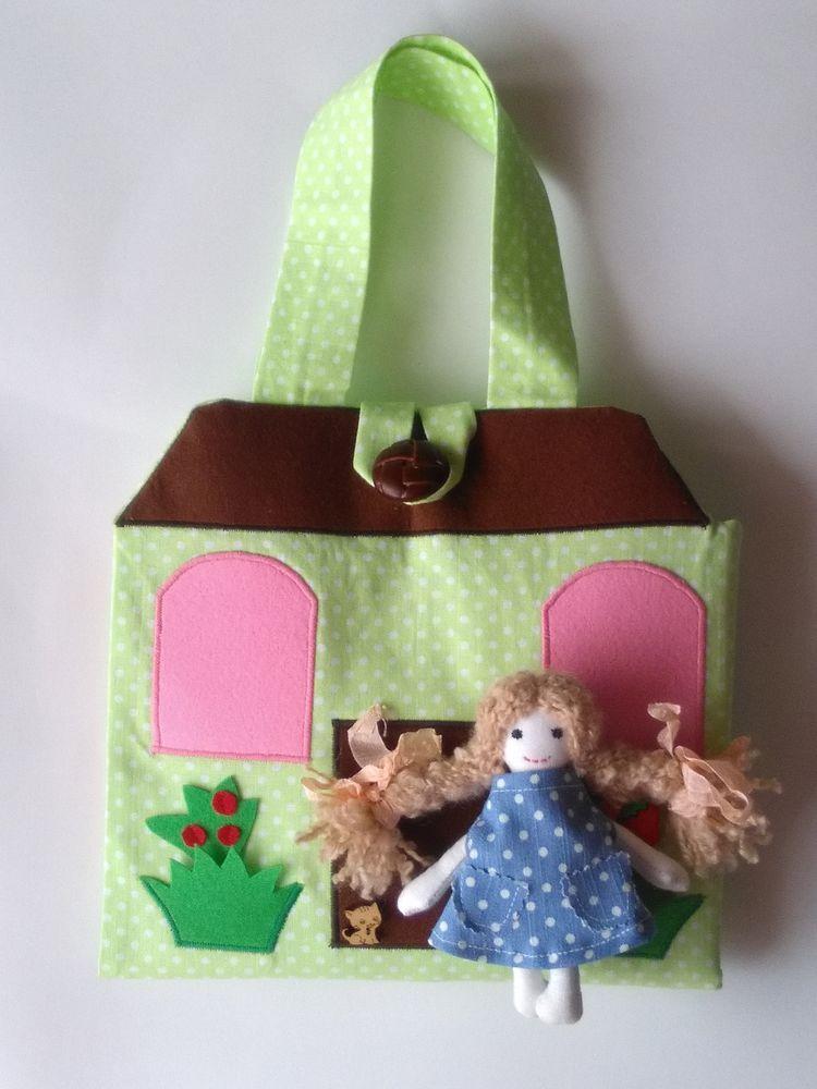домик сумочка