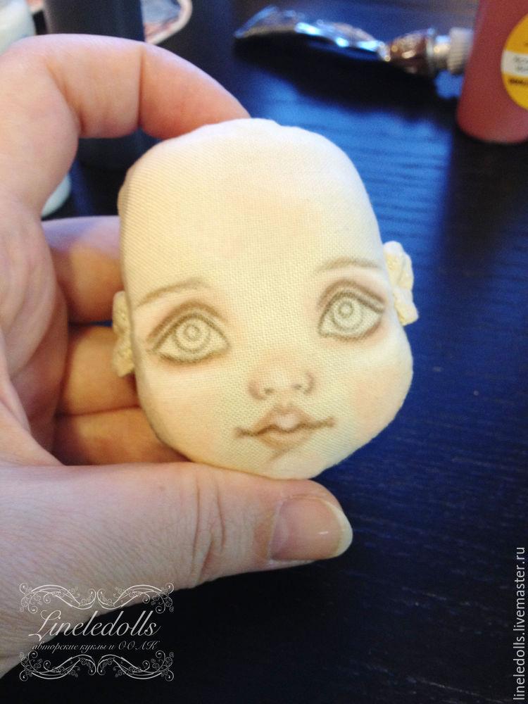 роспись куклы