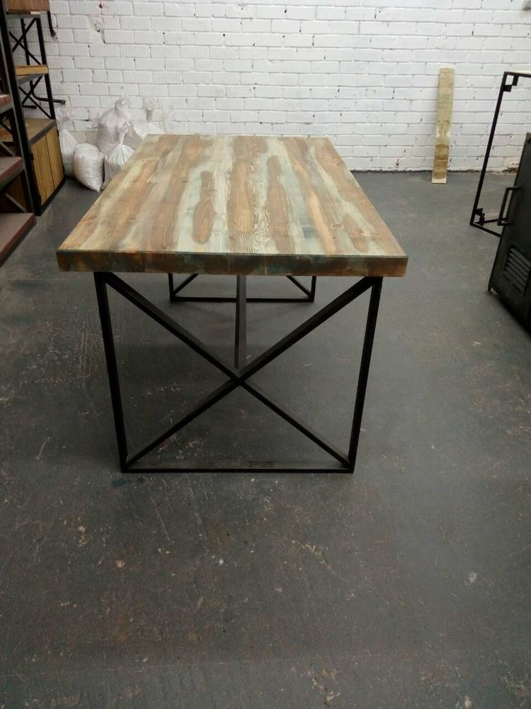 купить стол, дизайн мебели, стол из дуба, стол лофт из сосны, оригинальный стол