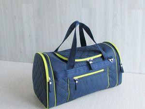 Позитивная,яркая сумка для  спорта/путешествия..... Ярмарка Мастеров - ручная работа, handmade.