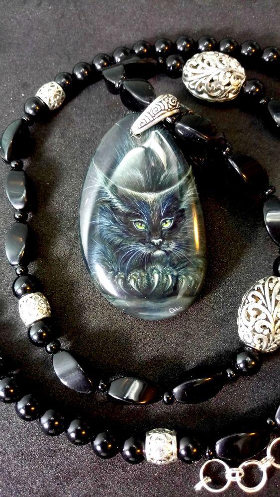 кулон с котом