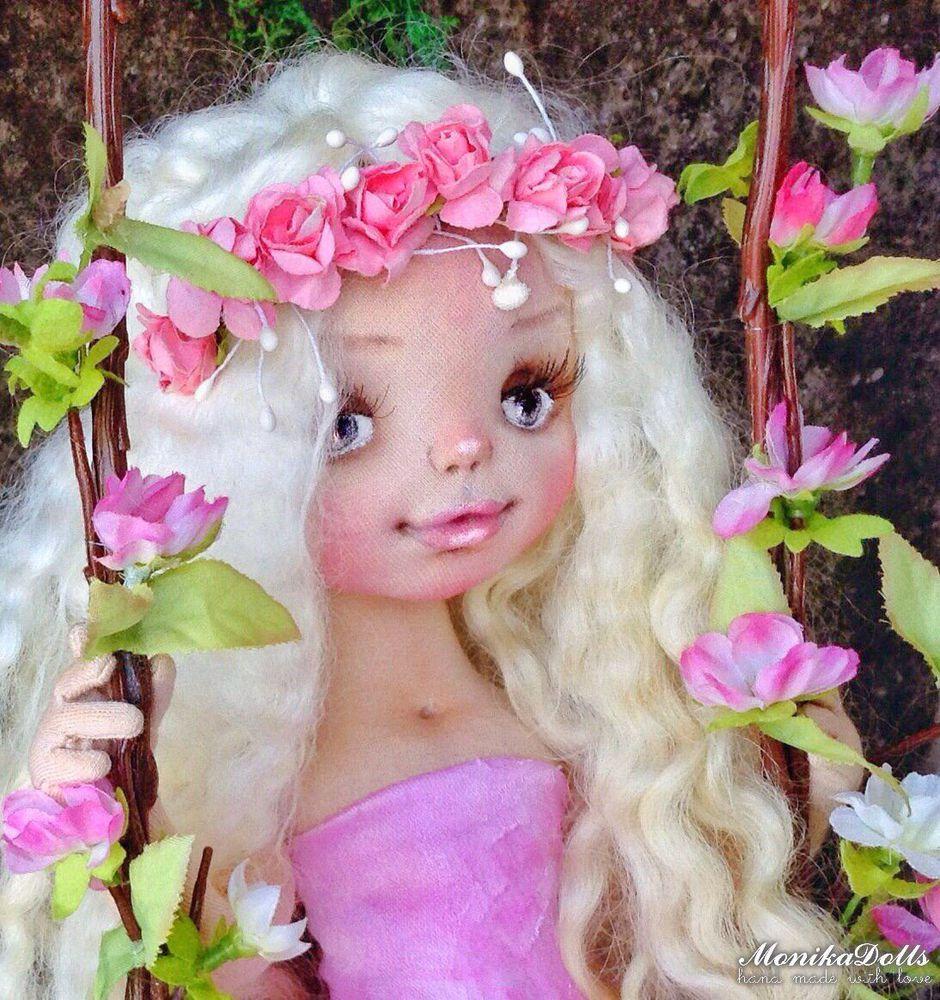 кукла, handmade