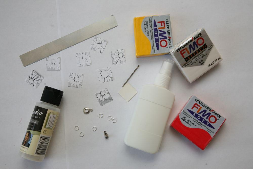 Перевод картинок на полимерной глине
