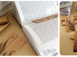 Деревянные закладки.. Ярмарка Мастеров - ручная работа, handmade.