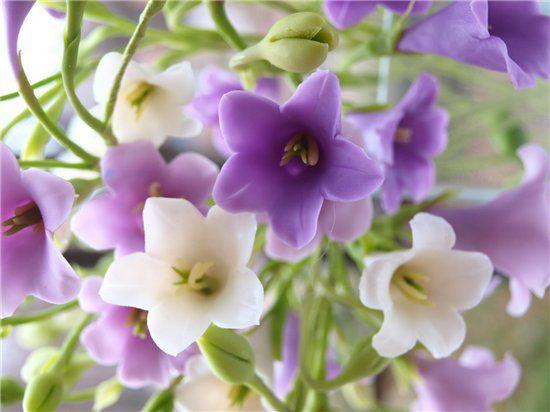 колокольчики, детство, floral modelling