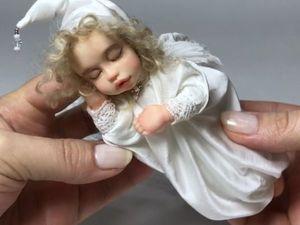 Ангелочек (дополнительные фото). Ярмарка Мастеров - ручная работа, handmade.