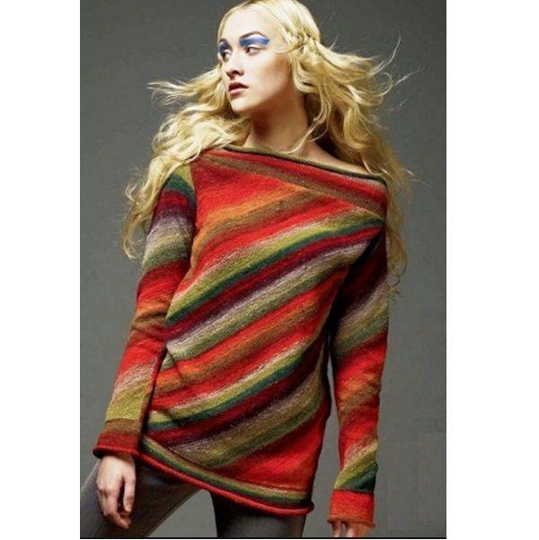 Частичное вязание: техника неограниченных возможностей!