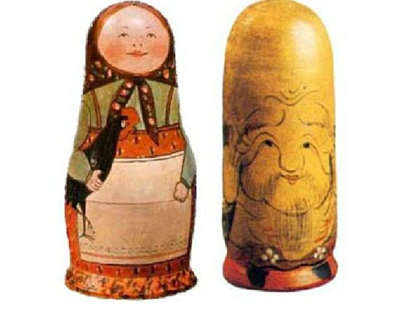 Японские корни русской матрешки | Ярмарка Мастеров - ручная работа, handmade