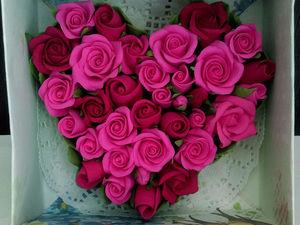 Видео мастер-класс: лепим розу из полимерной глины. Ярмарка Мастеров - ручная работа, handmade.