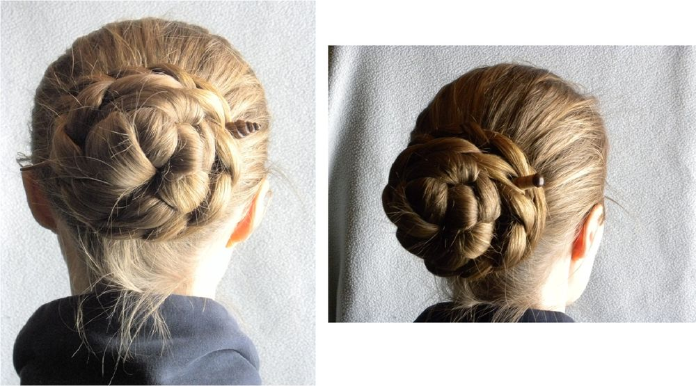 Как собрать волосы в пучок при помощи волшебной палочки, фото № 8