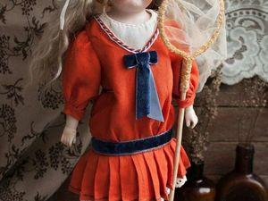 Антикварная кукла Heubach Koppelsdorf Время бабочек. Ярмарка Мастеров - ручная работа, handmade.