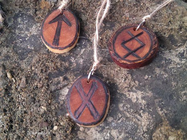 Рунические амулеты - наши помощники | Ярмарка Мастеров - ручная работа, handmade