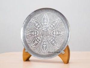 Аукцион весенний!  Тарелка декоративная, интерьерная!. Ярмарка Мастеров - ручная работа, handmade.