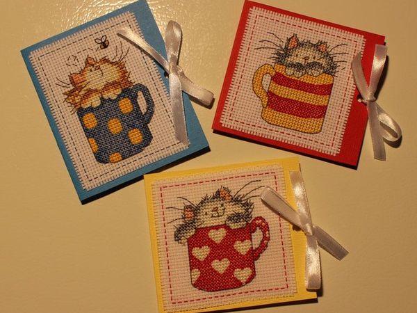 У нас новинка - мини-открыточки на магнитах! | Ярмарка Мастеров - ручная работа, handmade