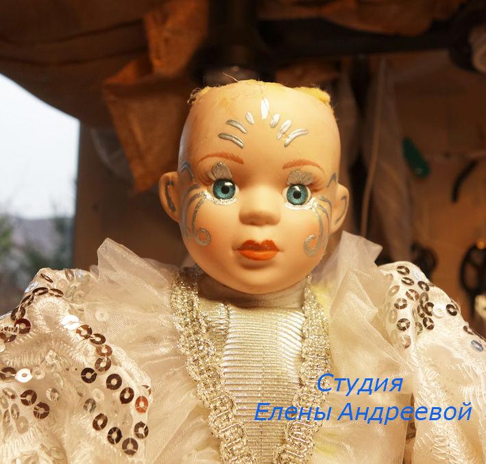 отреставрировать куклу