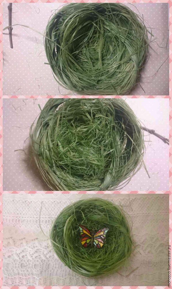 корзинка из травы