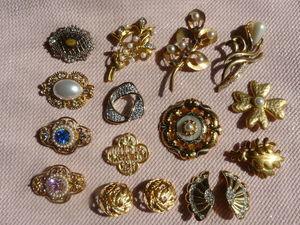 Уроки стиля. Учимся носить броши: золото и перламутр. Часть 2. Ярмарка Мастеров - ручная работа, handmade.