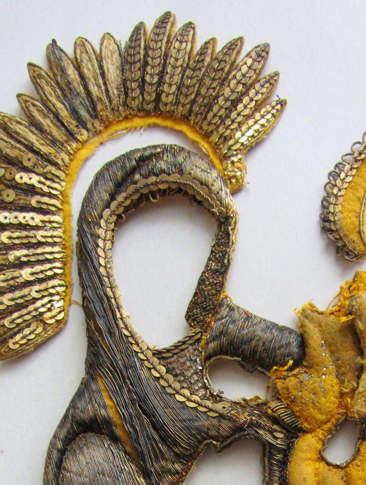 коллекционирование, икона, вышивка ручная