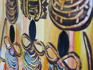 Аукцион на Картину акрилом | Ярмарка Мастеров - ручная работа, handmade