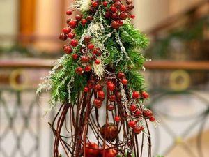 Эко-елочки как праздничный декор: фотоподборка оригинальных декоративных решений | Ярмарка Мастеров - ручная работа, handmade
