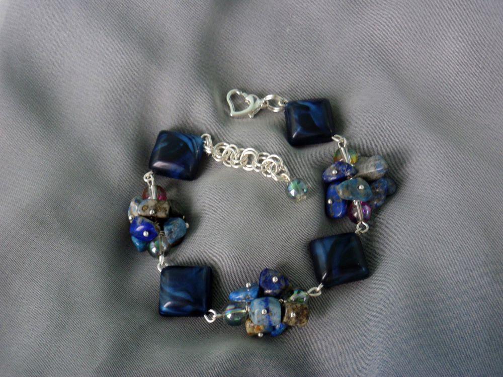 браслеты с камнями