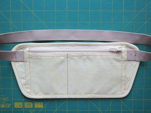 Шьем потайную сумку путешественника «Для денег». Ярмарка Мастеров - ручная работа, handmade.