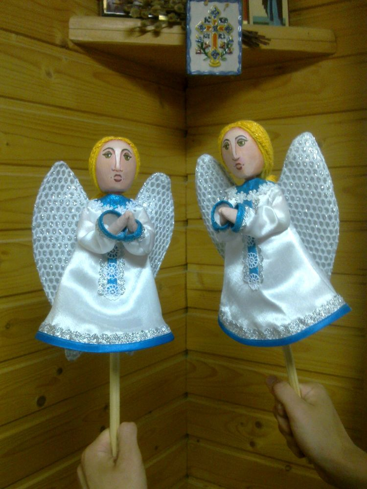 куклы на потыках