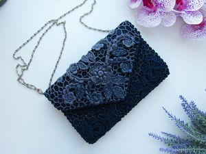 Аукцион на кружевную сумочку. Ярмарка Мастеров - ручная работа, handmade.