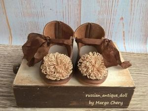 Как сделать розетки из ниток для декорирования кукольных туфель. Ярмарка Мастеров - ручная работа, handmade.