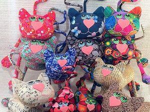 Стайка котов :) | Ярмарка Мастеров - ручная работа, handmade